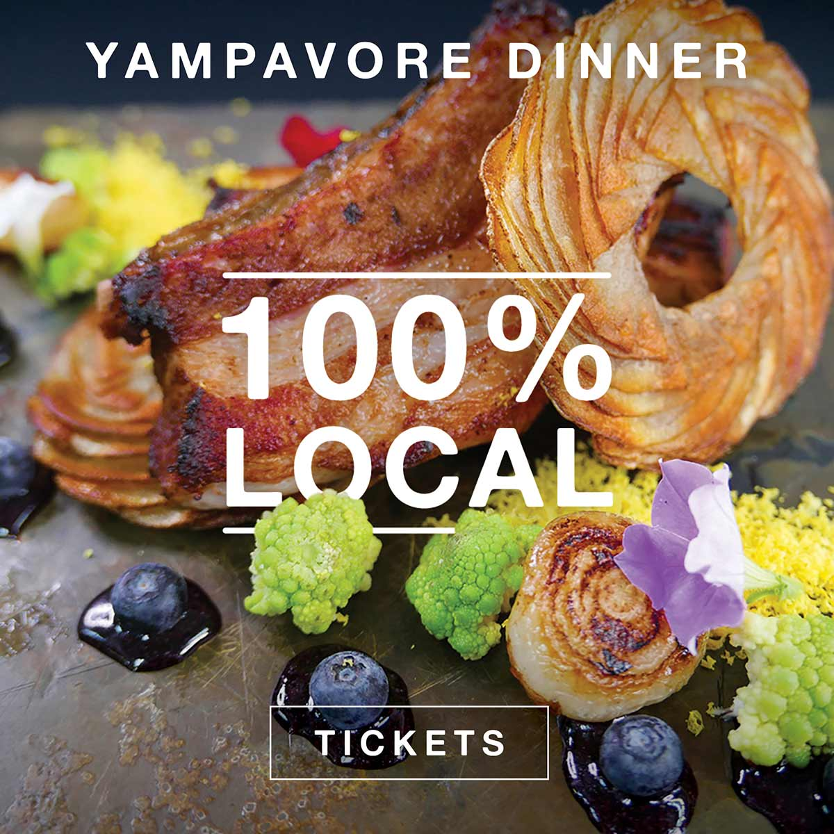 Harwigs Yampavore Dinner 100% Local Food CAA Buy Tickets