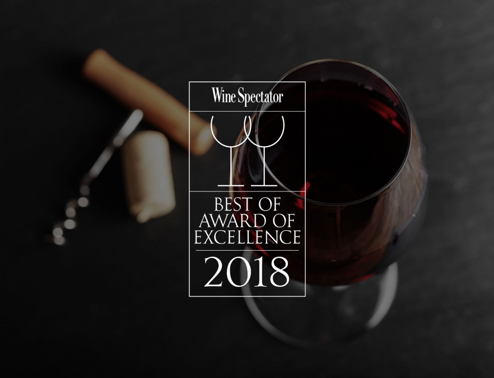 Harwigs Recognized in Wine Spectator's Restaurant Awards for the 32nd Consecutive Year